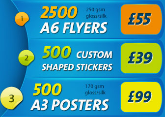 Printing and design including leaflet printing and business cards a6 flyers and luxury business cards reheart Images