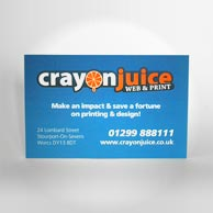 Great Value 350gsm Business Card